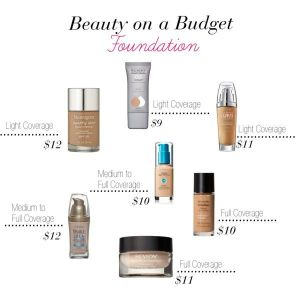 Beauty on a Budget: Foundation